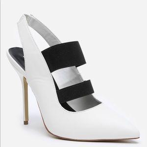 ❣️final price. Bebe White Daronie Heels